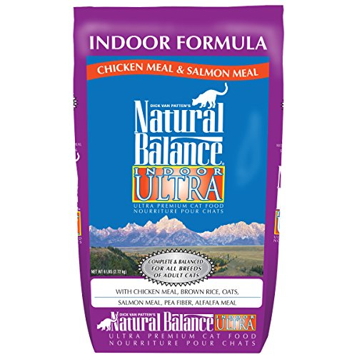 Natural Balance Indoor Ultra Chicken Meal & Salmon Meal Form