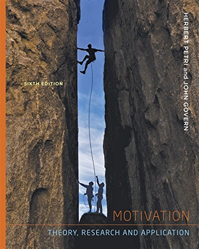 Motivation Theory Research and Application