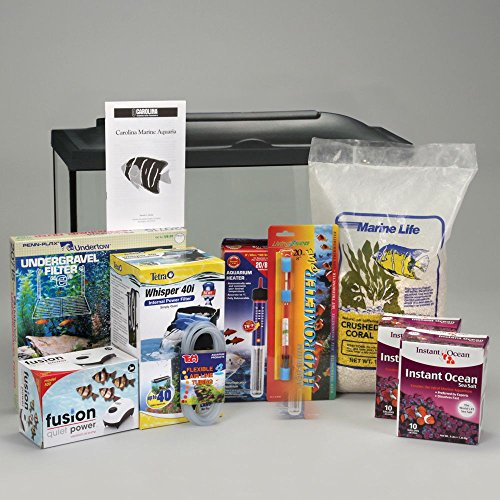 Marine Aquarium Kit, Basic, 20 gal, without Animals by Carolina Biological Supply Company