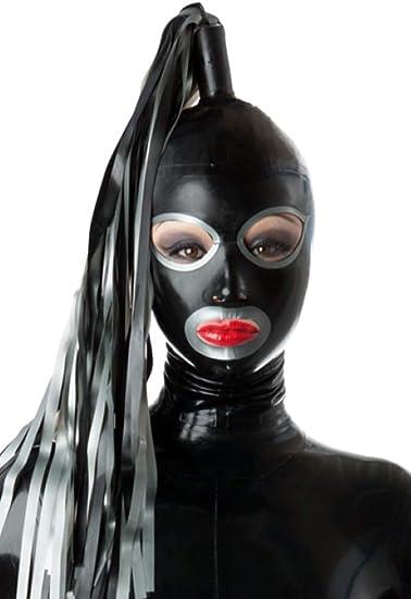 Latex Rubber Deluxe Costume Hood
