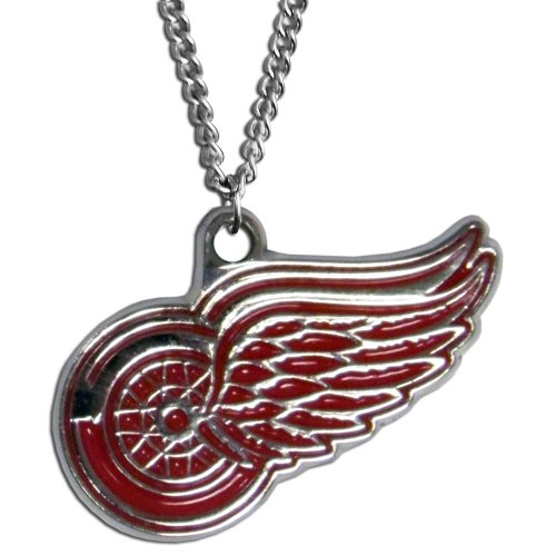 (NHL Detroit Red Wings Chain Necklace, 22