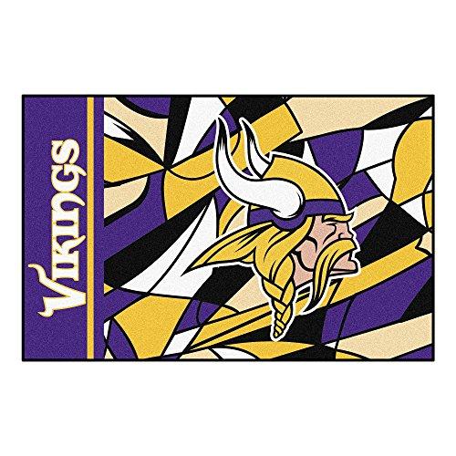 Fanmats NFL Minnesota Vikings NFL - Minnesota Vikingsstarter Mat, Team Color, One Sized
