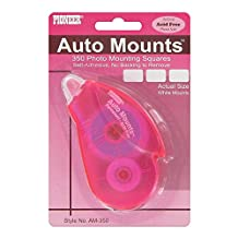 Pioneer Photo Albums Auto Mounts Dispenser with 350 Photo Mounting Double Sided Self Adhesive Squares