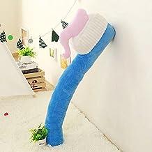 Creative emulation toothbrush pillow plush toys large long pillow sofa cushion tricky blue ,90cm , Birthday Gift