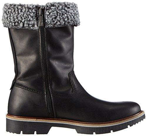 Marc O'Polo Stiefel - Botas de cuero para mujer negro - Schwarz (990 black)