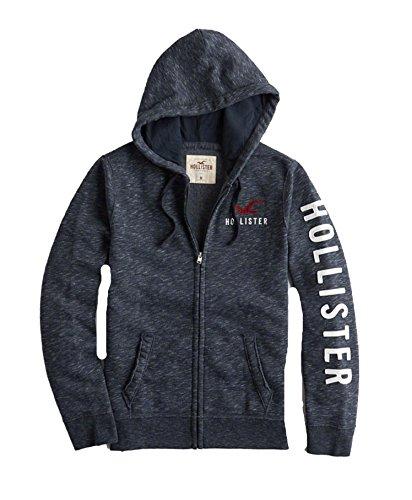 Navy Zip Hoodie Sweatshirt - 8