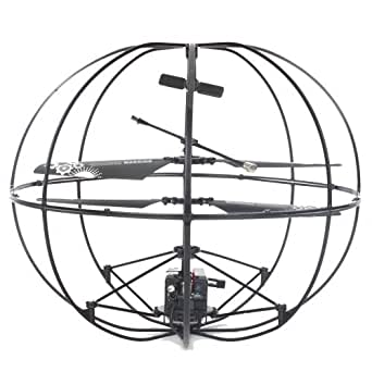 Robotic UFO 3CH I/R Flying Ball RC Helicopter w/ Gyro