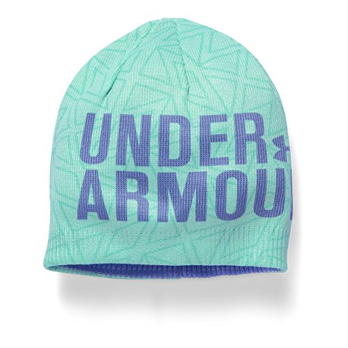 Under Armour Women's Graphic Beanie (Youth) Crystal/Violet Storm Hat One Size