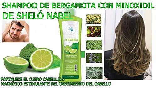Amazon.com: SHAMPOO DE BERGAMOTA PREVIENE CAIDA DE CABELLO ALOPECIA Sheló NABEL: Beauty