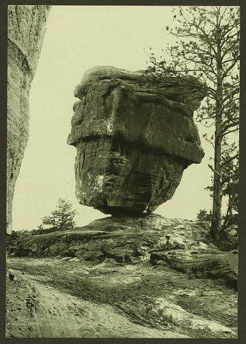 HistoricalFindings Photo: Balanced Rock,Garden of Gods,Colorado Springs,CO,1898