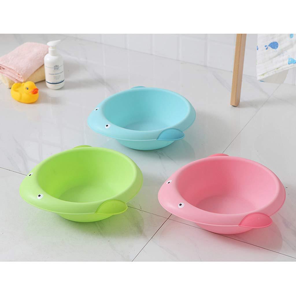 Seifenablage Baby Waschschale Waschsch/üssel Waschwanne Wal rosa