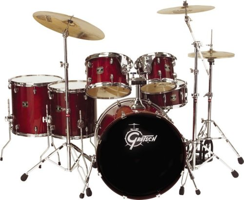 Gretsch Catalina Maple 5 Piece In Cherry Red With Free (Gretsch Catalina Maple 5 Piece)