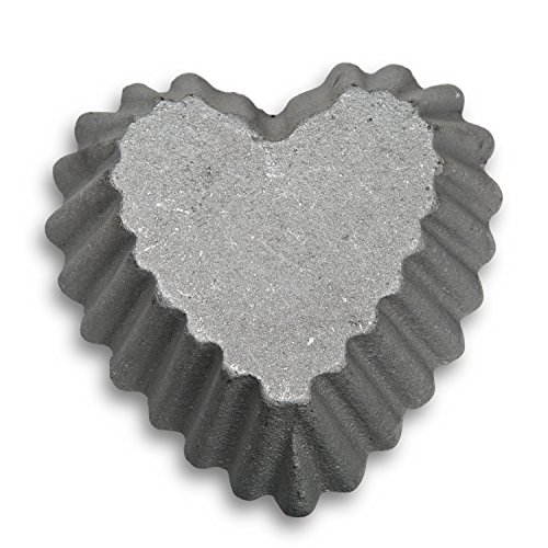 Honey-Can-Do 7026 Loose Deep Heart Shell Rosette Iron ()