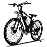 26 Inch Power Plus Electric Mountain Bike Large Capacity Battery (Small Image)