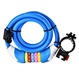 Best Sunlite Hoses - EDTara Security Bike Lock Cable Resettable 5 Digit Review