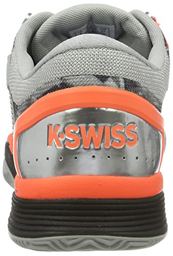 K-swiss Prestaties Mannen Hyper Rechter 2.0 Hb Tennisschoenen Grijs (hoogbouw / Zwart / Neon Blaze)