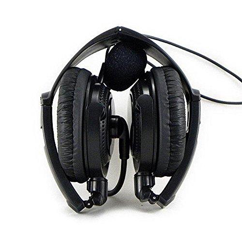 Aike® 2 Pin Folding Headset Mic for HYT TYT BAOFENG UV5R 888S 666S KENWOOD Radios