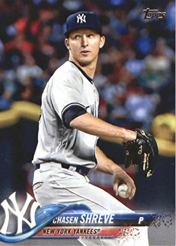 2018 Topps Series 2#497 Chasen Shreve New York Yankees Baseball Card - GOTBASEBALLCARDS