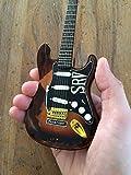 Officially Licensed Mini Fender Strat Stevie Ray Vaughan SRV Guitar Model