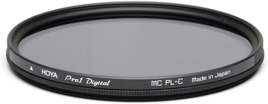 Hoya Pro 1 Digital Circular PL - Filtro Polarizador (77 mm), Montura Negra