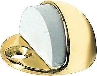 HSI fermaporta in ottone nichel satinato, 38x 43mm, 1pezzi, 352440.0