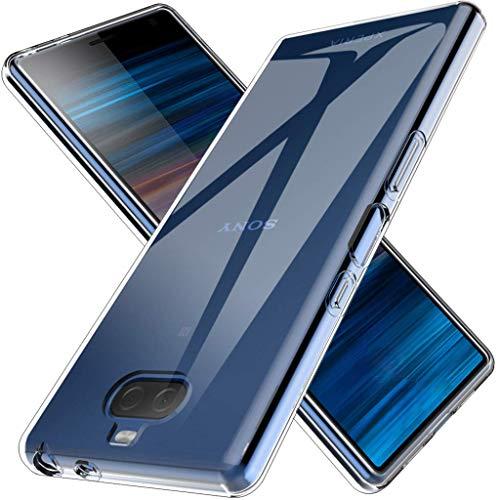 用心深い組み合わせ偽GEEMEE Sony Xperia 10 Plus ケース 保護 カバー 透明 TPU素材 クリスタル 超薄型 超軽量 Sony Xperia 10 Plus 専用 (クリア)