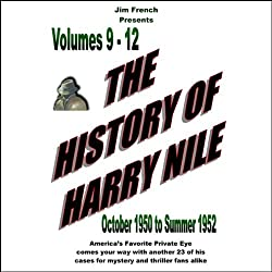 The History of Harry Nile, Box Set 3, Vol. 9-12, October 1950 to Summer 1952