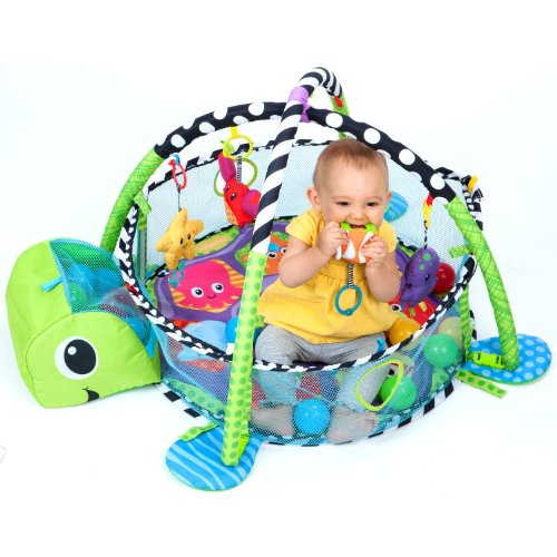 Infantino Grow-with-me Activity Gym and Ball Pit 5
