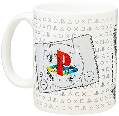 Caneca Playstation Com Textura Ps