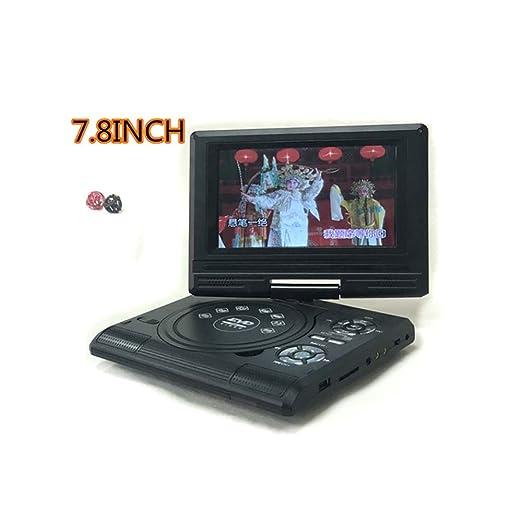 GuangXin Reproductor de DVD portátil con batería Recargable ...