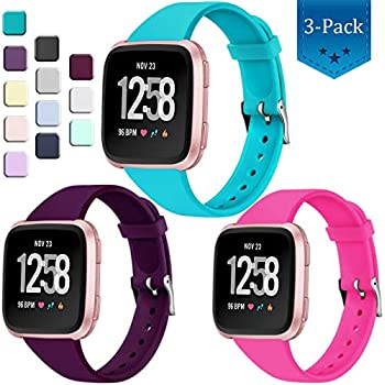 Amazon.com: Wepro Bands Compatible with Fitbit Versa