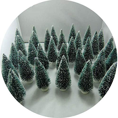 24 Pcs Christmas Tree Christmas Decoration Christmas Tree A Small Pine Tree. Placed in The Desktop M ()