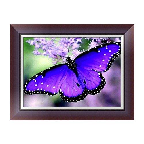 5D Diamond Painting Kit,FORESTIME Butterfly DIY Cross Stitch
