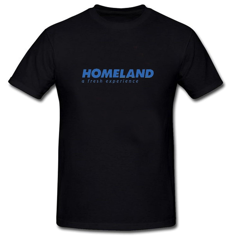 Lior Homeland-Logo Fashion Short Sleeve T Shirts Black