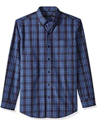 Arrow 1851 mens Long-sleeve Plaid Shirt