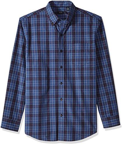 Arrow 1851 Men's Long-Sleeve Plaid Shirt