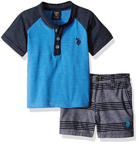 U.S. Polo Assn. Baby Boys T-Shirt and Short Set