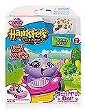Zuru - Hamsters in a House - Scurry Car - Peanut - Véhicule + 1 Mini Robot Hamster