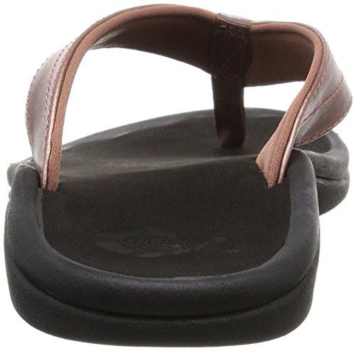 Pantofola Oloka Ohana - Oro Rosa Donna / Nero