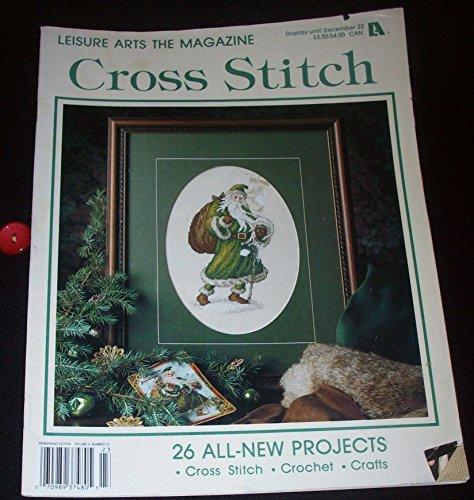 Leisure Arts The Magazine Cross Stitch December 1992