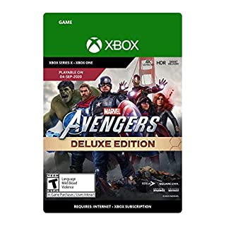 Marvel's Avengers Deluxe Edition - Xbox One [Digital Code]