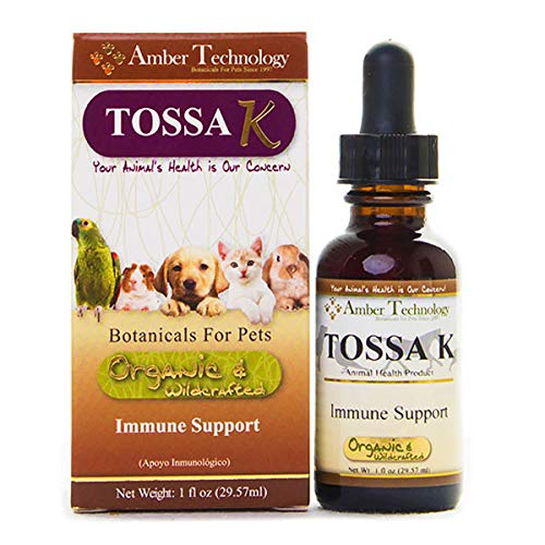 Amber Technology Tossa-K Immune Support On The Go for Dogs, 1 Ounce by Amber Technology
