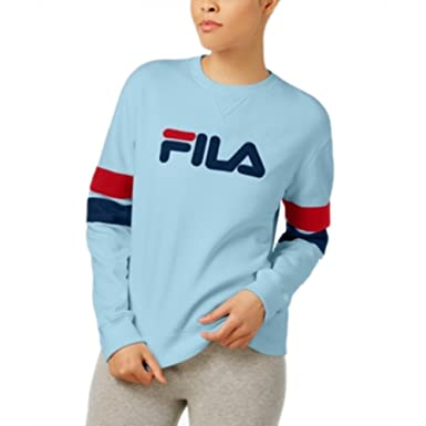 9444333460cb Fila Women s Newton Sweatshirt at Amazon Women s Clothing store