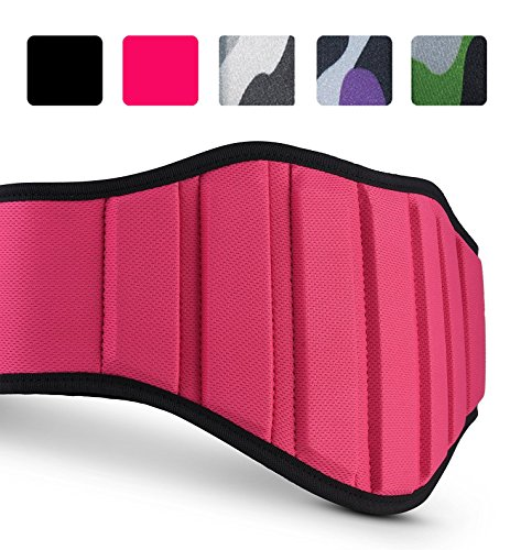 Premium Weightlifting Belt For Lifting Weights Best Back Belt Support For Men & Women Back Support Belt For Squats, Deadlift, PushJerks, Thrusters Lifting Belt For Powerlifting And Bodybuilding