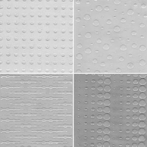 CK Products Impression Mat - Dots Assortment Pkg of 4 Texture Dots