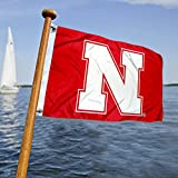 Nebraska Huskers Boat and Nautical Flag