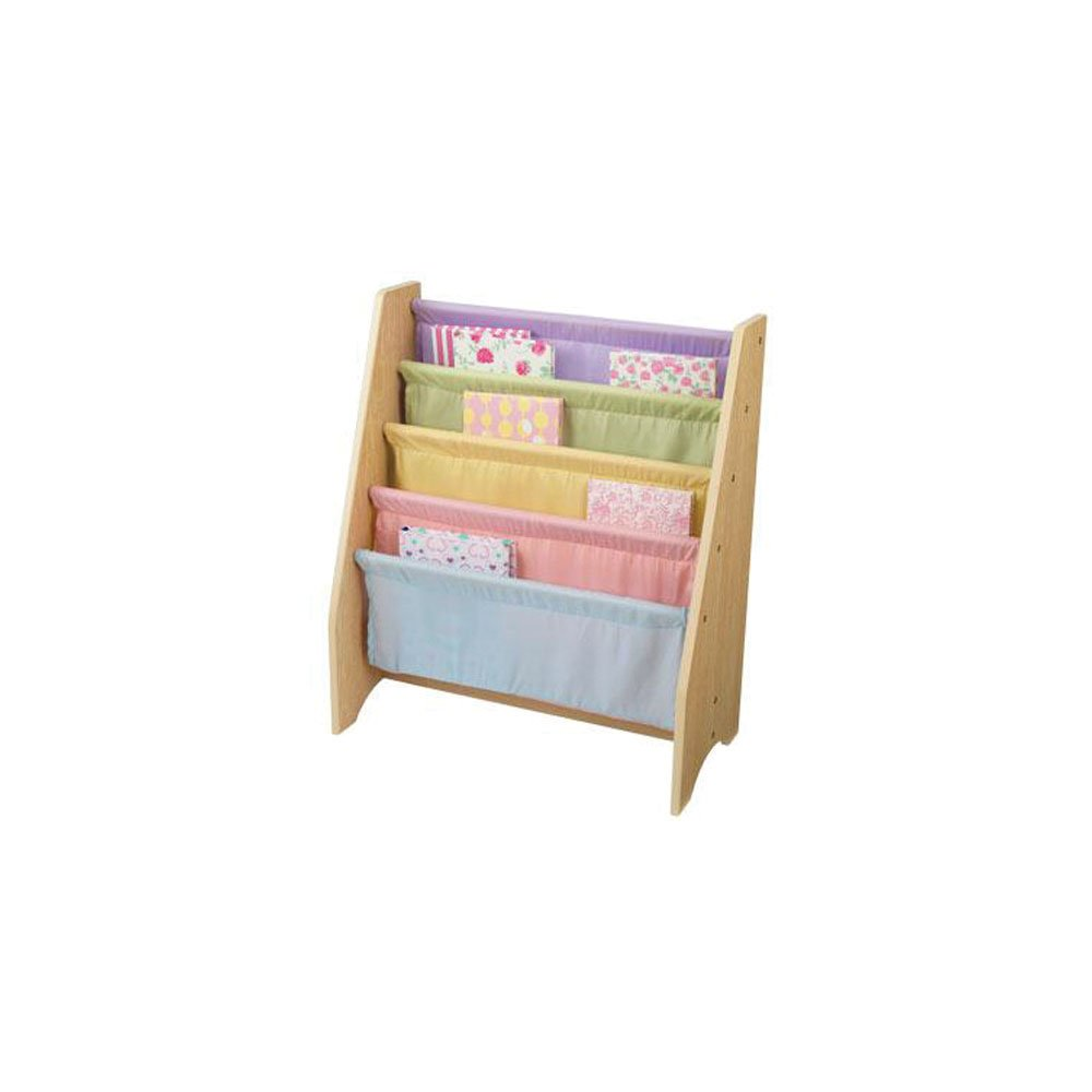 KidKraft Personalized Sling Bookshelf , Pastel PZ-Sling