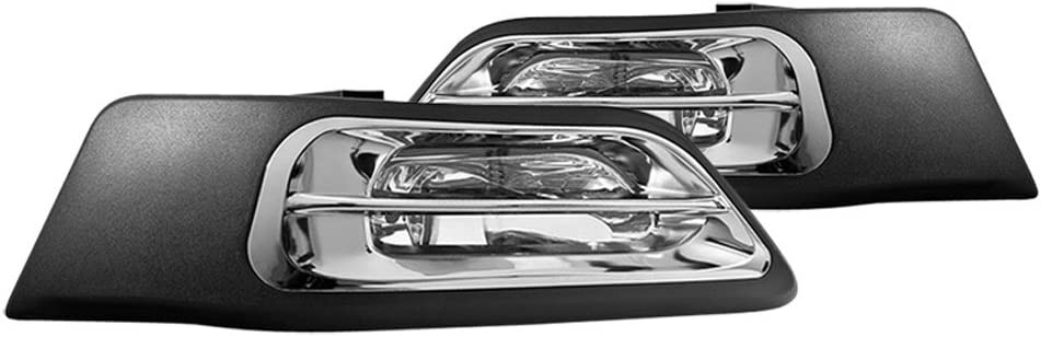 For 2002-2004 Honda CRV CR-V Bumper Fog Lights Driving Lamps Replacement Assembly Driver /& Passenger Side ACANII