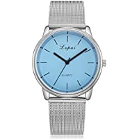 Clearance Sale! Women Luxury Watches 2018 Fashion Analog Quartz Wrist Watches Casual Business Watches (E)
