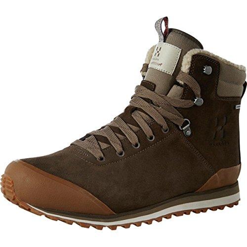 Haglofs grevbo GT Hombre–Madera–UK 12/EU 471/3/US 12,5–para hombre (impermeable, aislante Gore-Tex botas de invierno